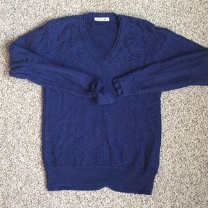 EUC Lacoste V-Neck Sweater